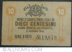 Image #1 of 10 Centesimi 1918 (2. I.)
