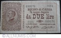 Image #1 of 2 Lire D. 1914 (1914-1922)