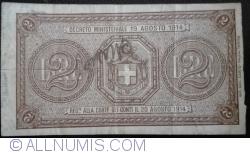 Image #2 of 2 Lire D. 1914 (1914-1922)