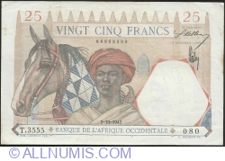 Image #1 of 25  Francs  1942 (1. X.)