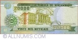 Image #2 of 20,000 Meticais 1999 (16. VI.)
