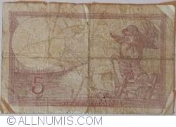 5 Francs 1939 (17. VIII.)