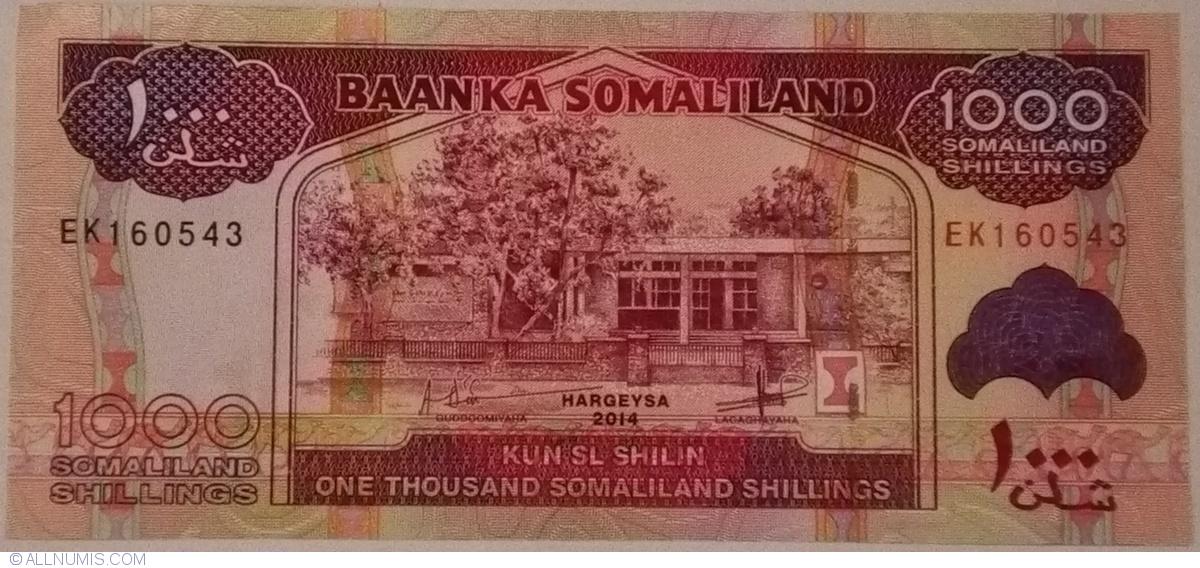Somaliland 5 Shillings Crisp UNC Banknote