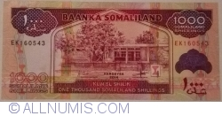 Imaginea #1 a 1000 Shillings 2014