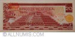 Image #2 of 20 Pesos 1977 (8. VII.) - Serie DE