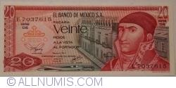 Image #1 of 20 Pesos 1977 (8. VII.) - Serie DE
