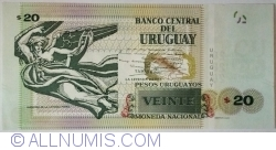 Image #2 of 20 Pesos Uruguayos 2015