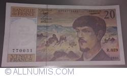 Image #1 of 20 Francs 1990