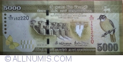 Image #1 of 5000 Rupees 2016 (04 VII)
