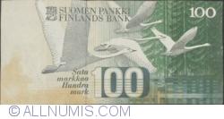 Image #2 of 100 Markka 1986 (1991) -  signatures Sorsa / Heinonen