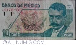Image #1 of 10 Pesos 1994 (6. V.) - Serie S