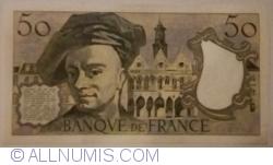 Image #2 of 50 Francs 1977