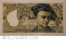 Imaginea #1 a 50 Franci 1977