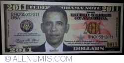 Image #1 of 2011 Dollars 2011 - Barak Obama