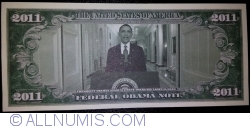 Image #2 of 2011 Dollars 2011 - Barak Obama