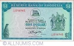 Imaginea #1 a 1 Dolar 1979 (2. VIII.)