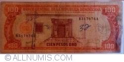 Imaginea #1 a 100 Pesos Oro 1990
