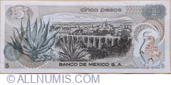 5 Pesos 1972 (27.VI.) - Seria 1AM