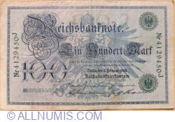 100 Mărci 1908 (7.II.) - J (retipărită 1918-1922)