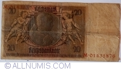 Image #2 of 20 Reichsmark 1929 (22. I.) - L