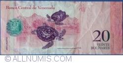 Imaginea #2 a 20 Bolivares 2007 (20. III.)