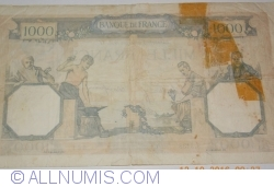 Image #2 of 1000 Francs 1938 (3. XI.)
