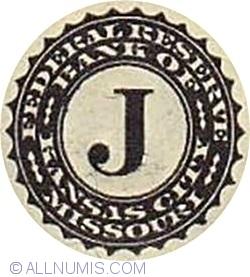 1 Dollar 2013 - J