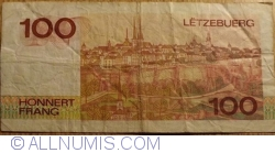 Image #2 of 100 Francs 1980 (14. VIII.)