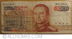 Image #1 of 100 Francs 1980 (14. VIII.)