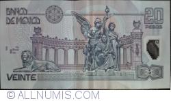Image #2 of 20 Pesos 2006 (29. III.) - Serie Y