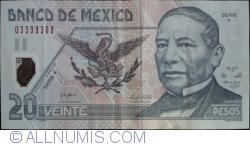 Image #1 of 20 Pesos 2006 (29. III.) - Serie Y