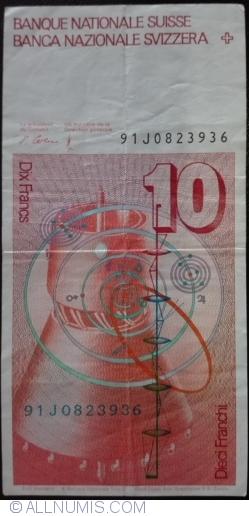 Image #2 of 10 Franci (19)91 - signatures Peter Gerber / Dr. Hans Meyer (64)