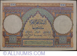 100 Francs 1952 (22. XII.)