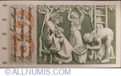 50 Franken 1968 (15. V.) - signatures Dr. Brenno Galli / Dr. Fritz Leutwiler / Rudolf Aebersold (45)