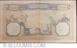 1000 Francs 1937 (22. IV.)