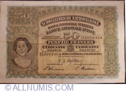 Image #1 of 50 Franken 1949 (20. I.)