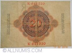Image #2 of 20 Mark 1910 (21. IV.) - R