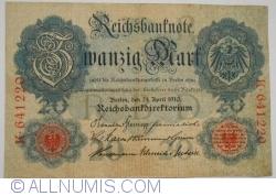 Image #1 of 20 Mark 1910 (21. IV.) - R