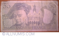 Image #2 of 50 Francs 1992