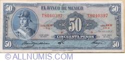 Image #1 of 50 Pesos 1963 (24. IV.) - Serie AKW