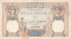 Image #1 of 1000 Francs 1928 (6. VII.)
