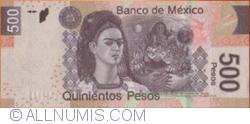 Image #2 of 500 Pesos 2010 (8. III.) - serie A