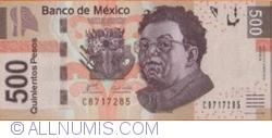 Image #1 of 500 Pesos 2010 (8. III.) - serie A