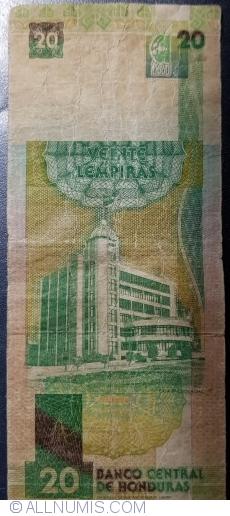 20 Lempiras 1994 (12. V.)