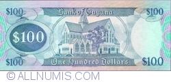 100 Dollars ND (1989) - semnături Patrick Matthews / Carl Greenidge