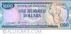 Imaginea #1 a 100 Dollars ND (1989) - semnături Patrick Matthews / Carl Greenidge