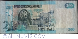 200 Meticais 2006
