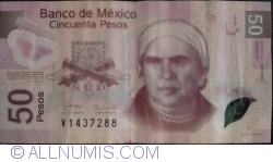 Imaginea #1 a 50 Pesos 2005 (7. IX.) - Serie D