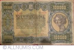 Imaginea #1 a 100 000 Coroane 1923 (1. V.)
