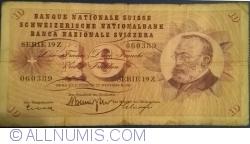 Image #1 of 10 Franken 1960 (22. XII.)